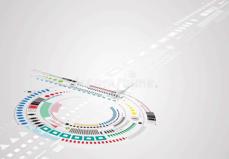 新技术公司业务&发展的概念 皇族释放例证