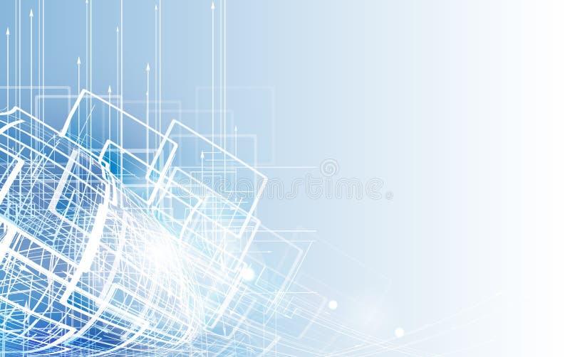 新技术公司业务&发展的概念 库存例证