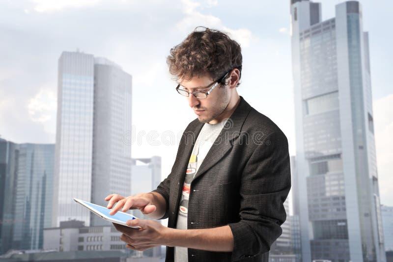 新技术 免版税库存照片