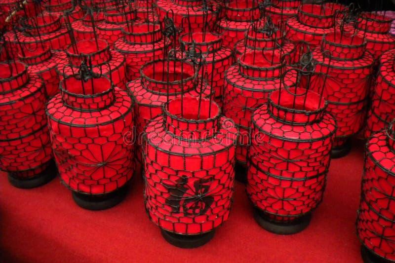 新春佳节的灯笼 库存图片