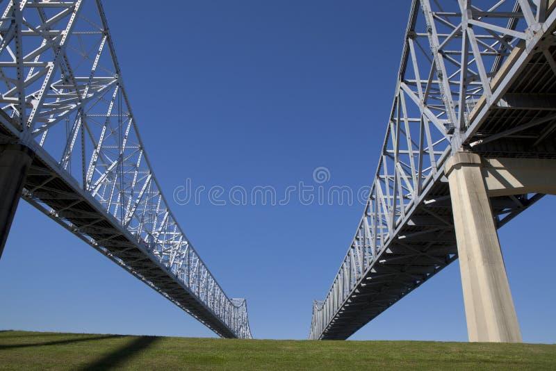 新月形城市连接-新奥尔良,路易斯安那 免版税库存图片