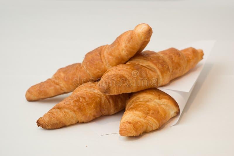 新月形面包法语 图库摄影