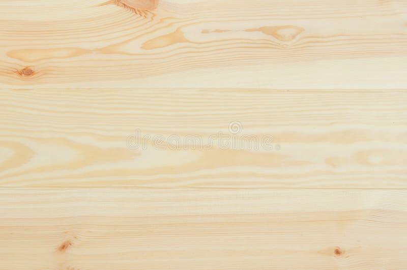 新松木板条背景顶视图 免版税库存照片