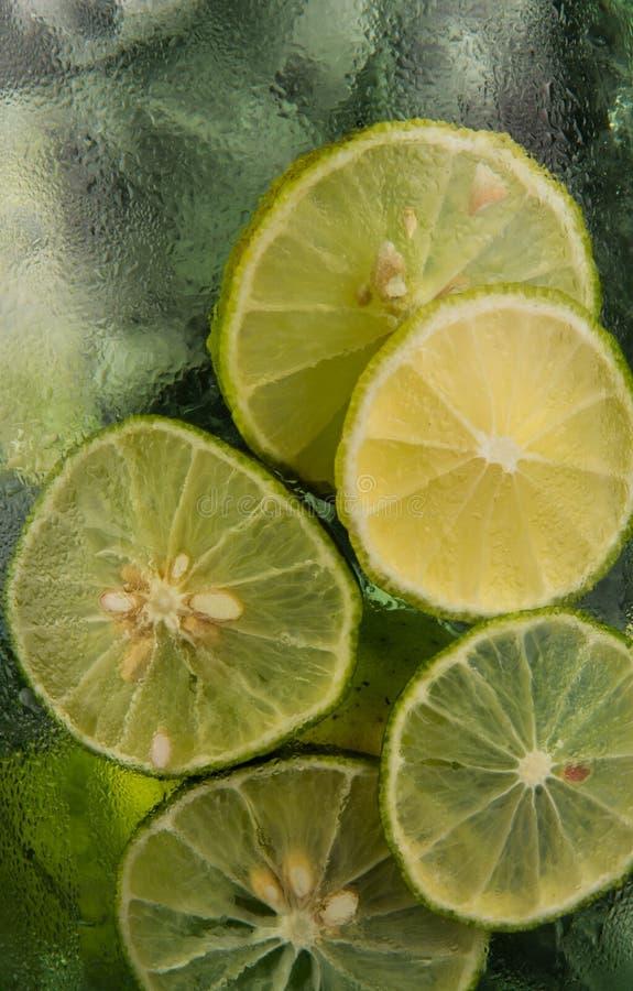 新柠檬汁背景II 库存照片