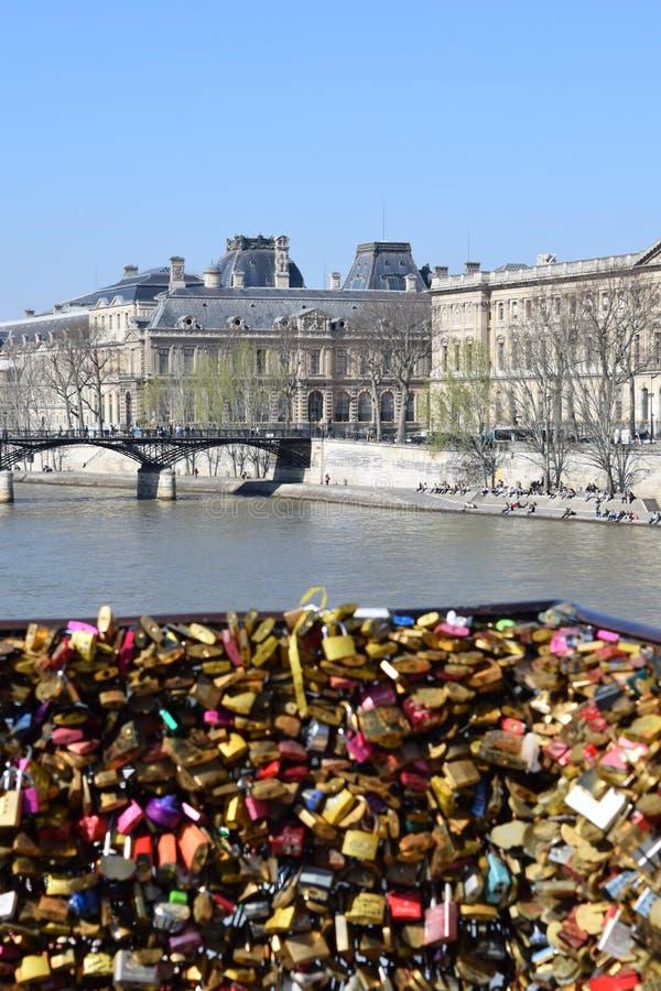 巴黎新桥  免版税库存图片