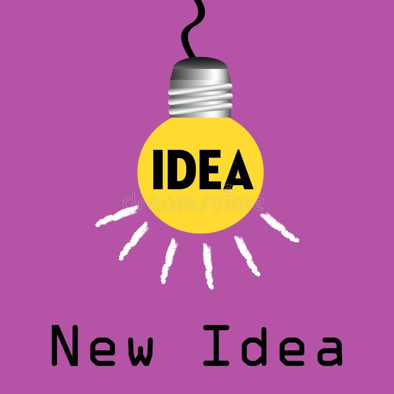 新概念的想法 皇族释放例证