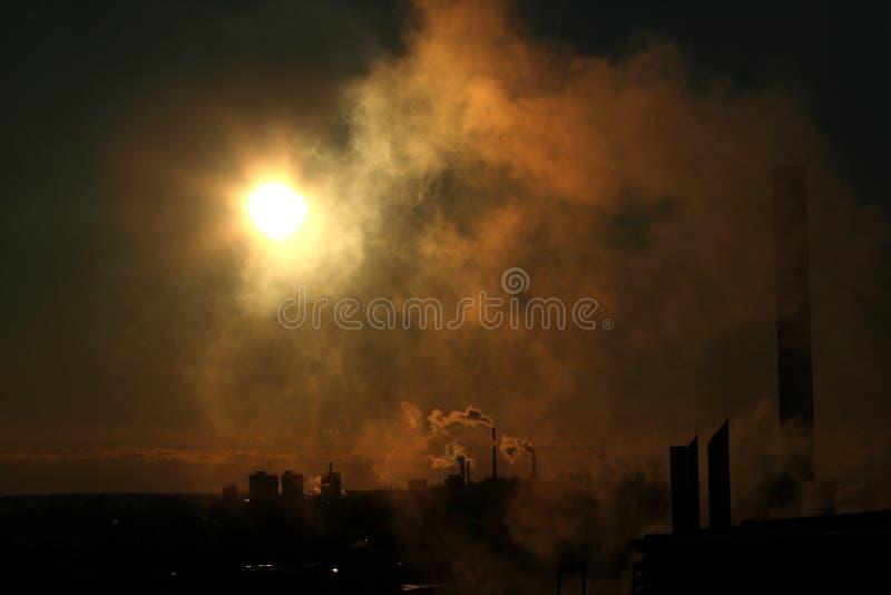 新污染 免版税库存图片