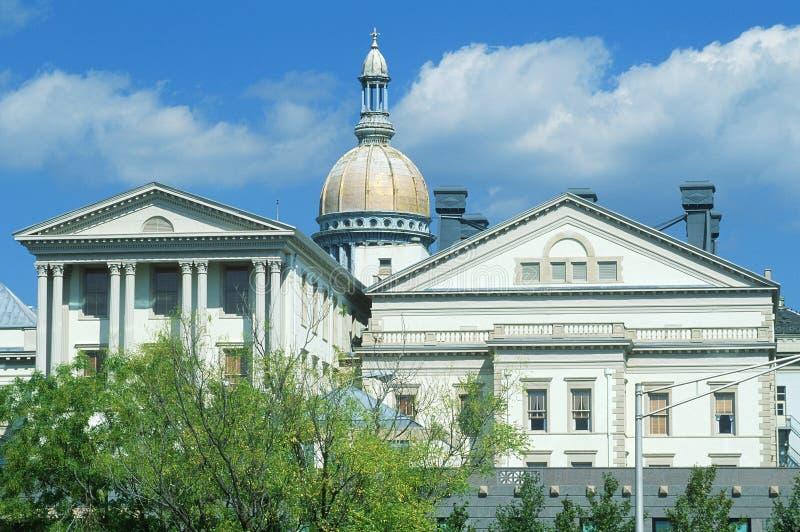 新泽西的状态国会大厦 库存图片