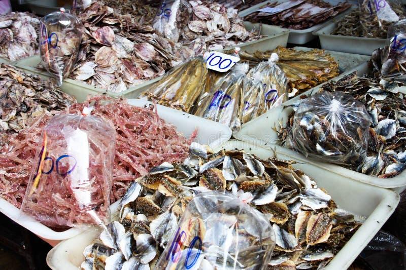 新海鲜市场 免版税图库摄影
