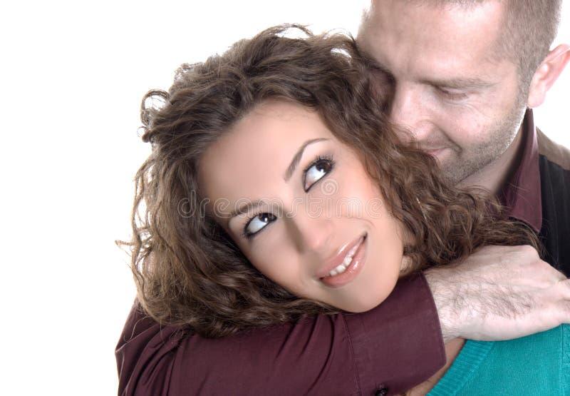 新爱夫妇 免版税图库摄影