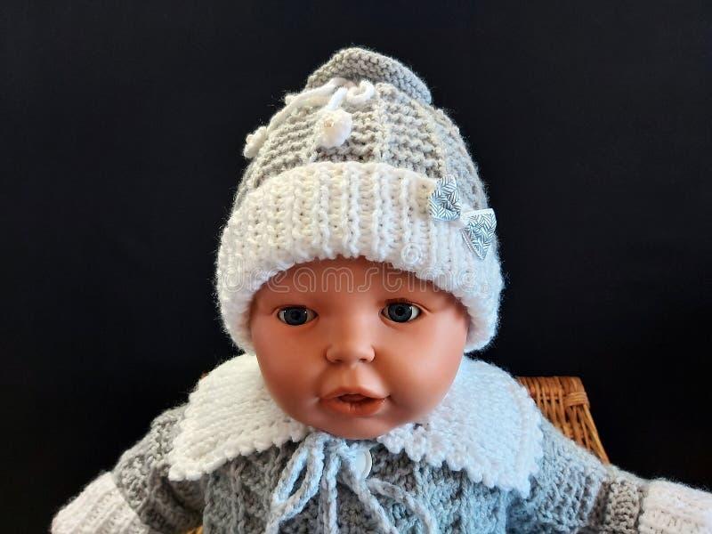 新生儿帽 免版税库存照片