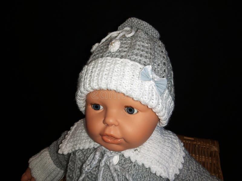 新生儿帽 图库摄影
