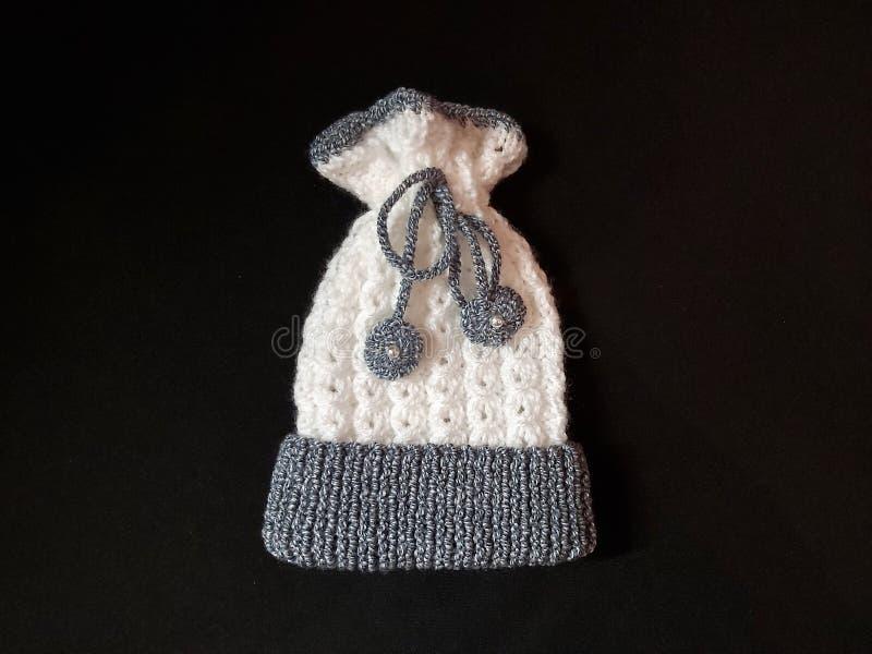 新生儿帽 免版税库存图片