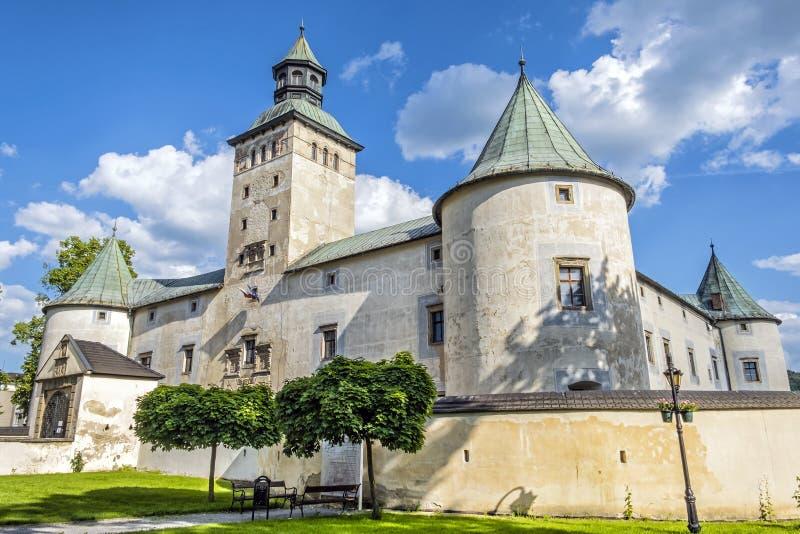 新生城堡,比特恰,斯洛伐克 库存图片