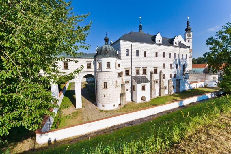 新生城堡, Pardubice,东部波希米亚,捷克共和国 库存照片