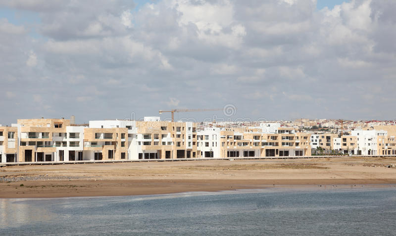 新的公寓在拉巴特 库存照片