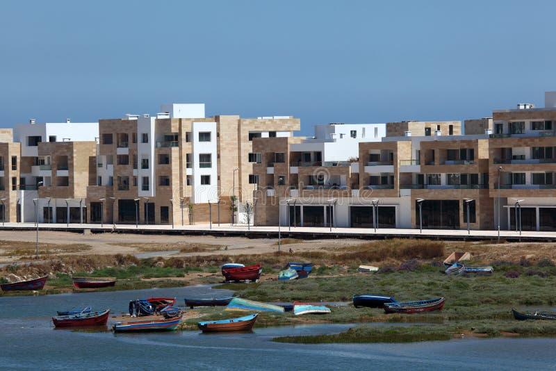 新的公寓旅馆拉巴特 免版税库存照片