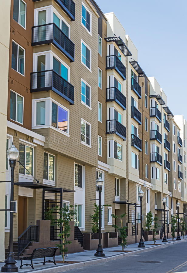 新的公寓 免版税库存图片