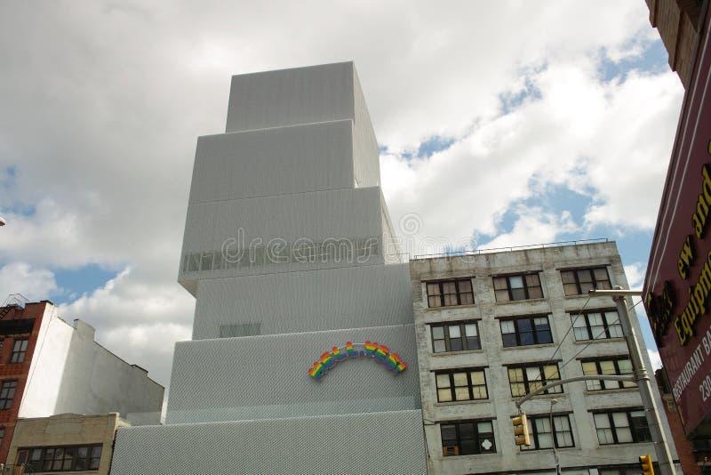 新的博物馆大厦 免版税库存照片