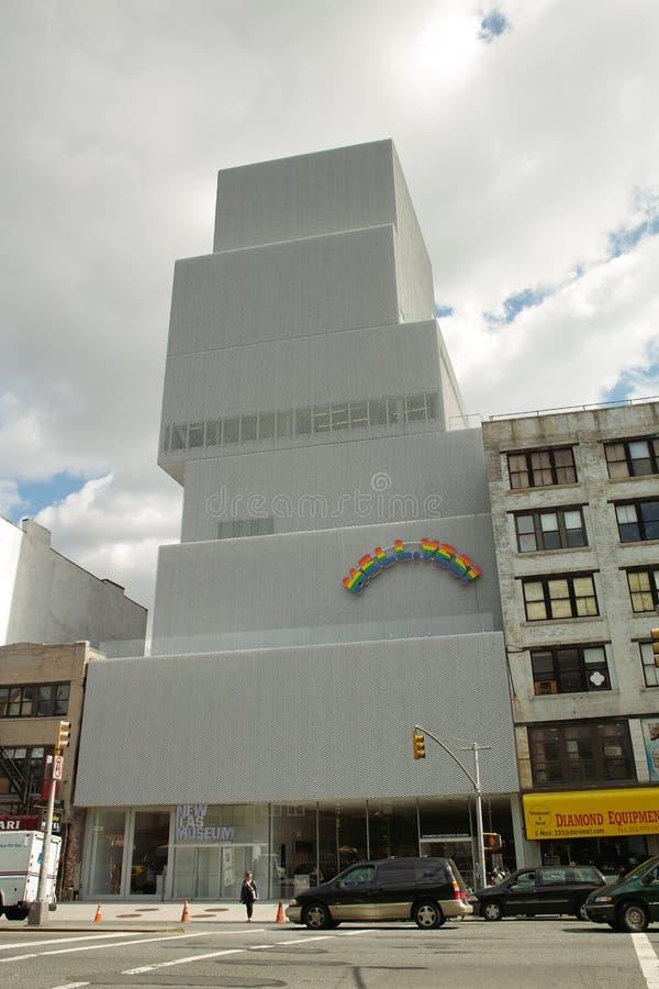 新的博物馆大厦 库存图片