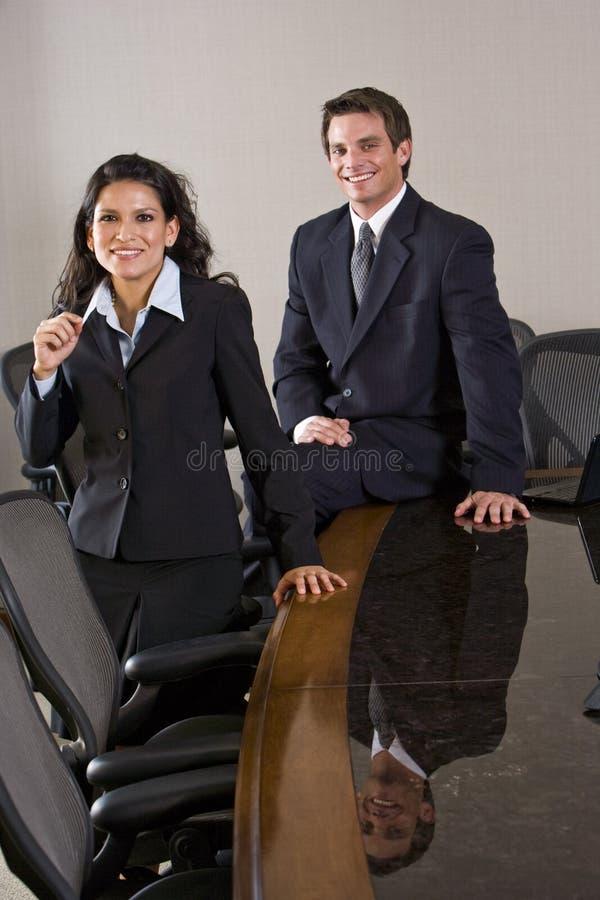 新的商业主管 免版税库存照片