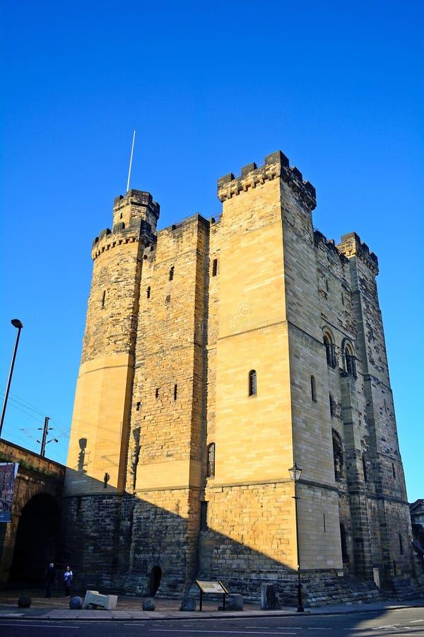 新的城堡,新堡,英国 免版税库存图片