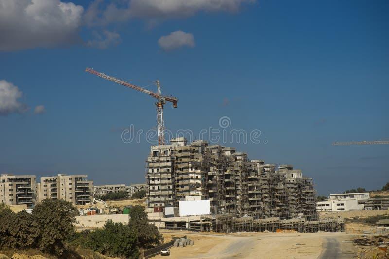 新的城市以色列 免版税库存图片