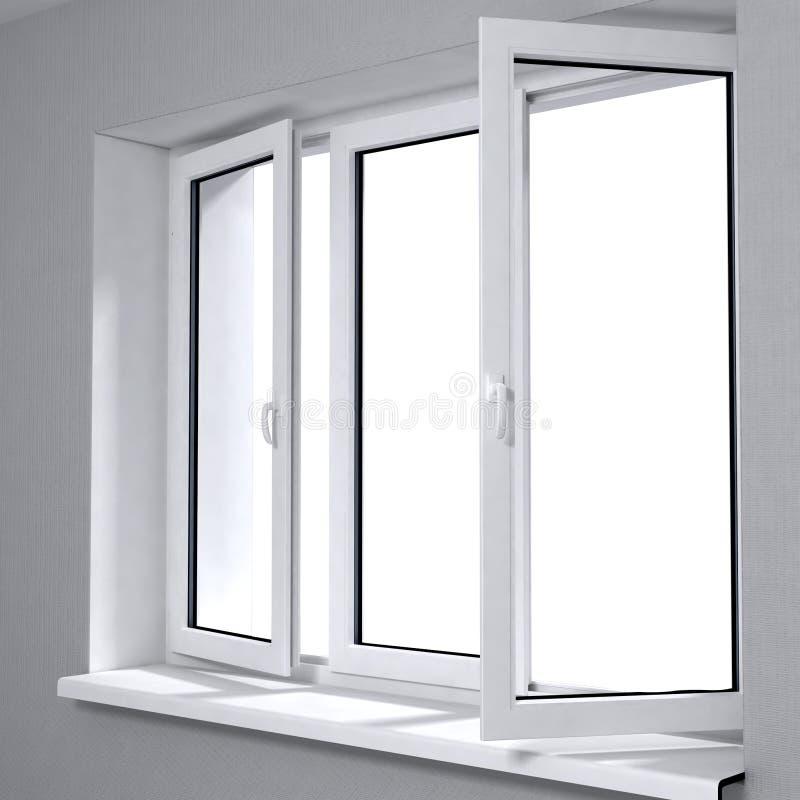 新的塑料视窗 库存照片