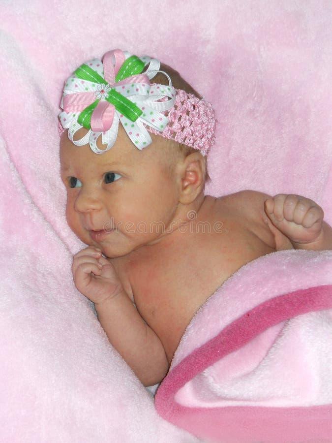 新的女婴 库存照片