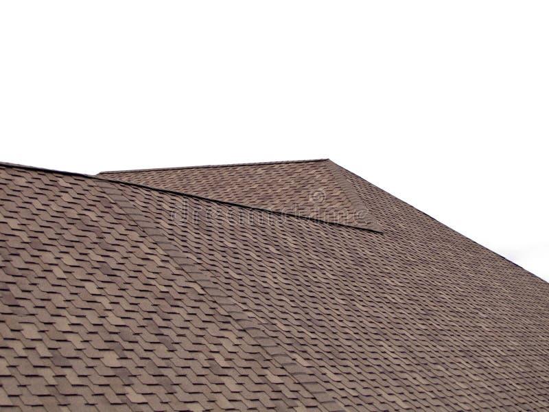 新的屋顶 免版税库存图片