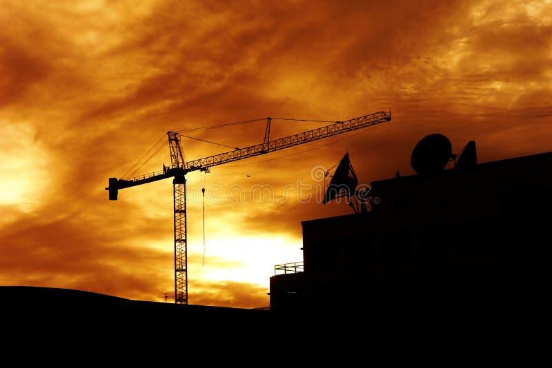 新的建筑 免版税库存照片
