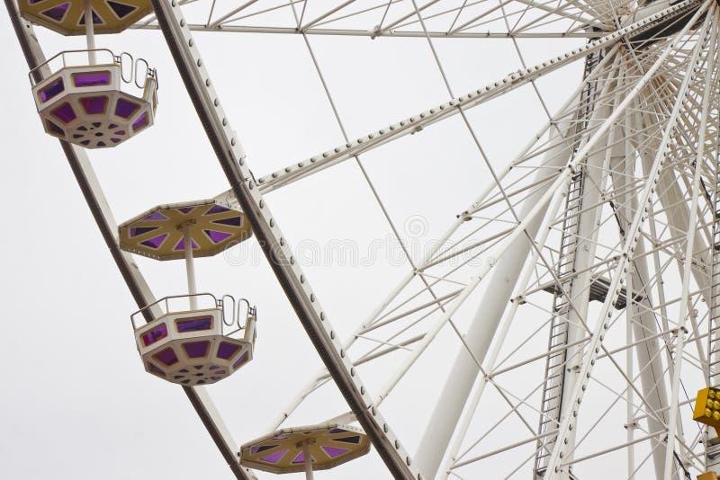 新的弗累斯大转轮在白色背景的维恩 免版税库存照片