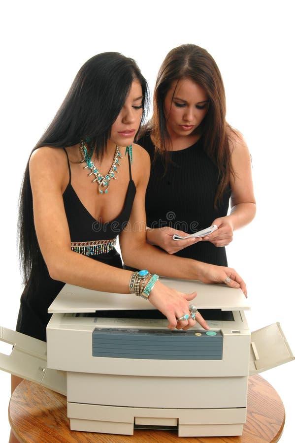 新的影印机 库存照片