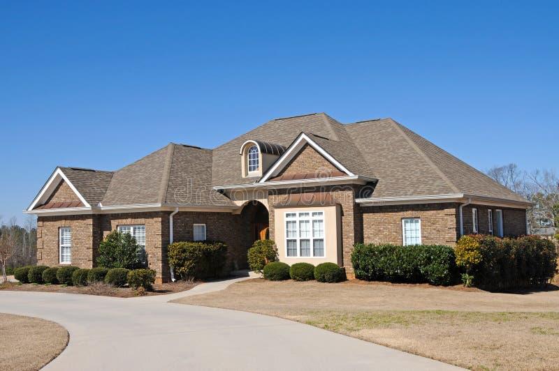 新的房子 免版税库存照片