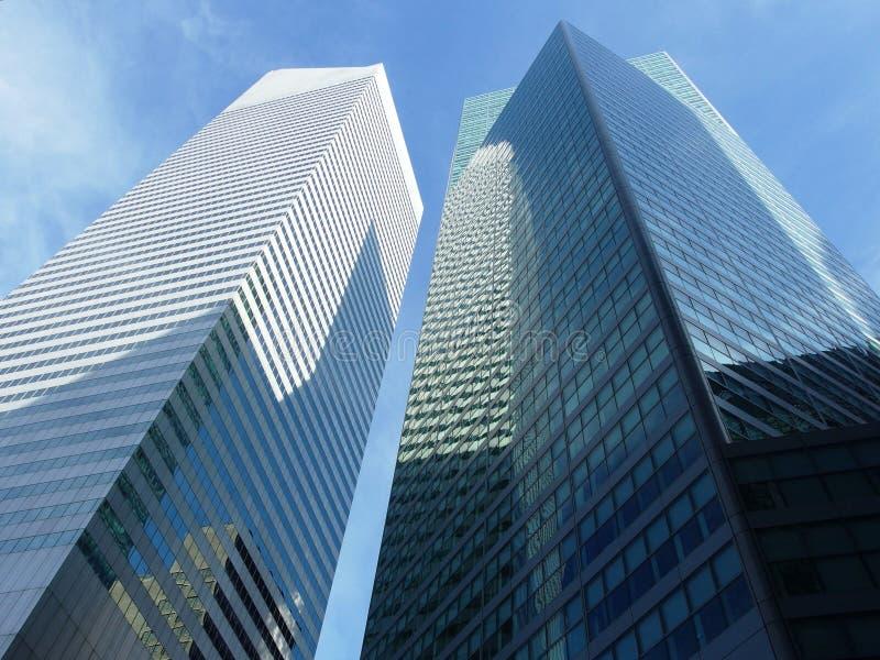 新的摩天大楼约克 免版税库存照片