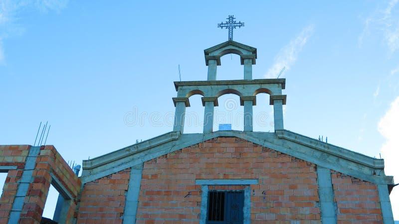 新的教堂 免版税图库摄影
