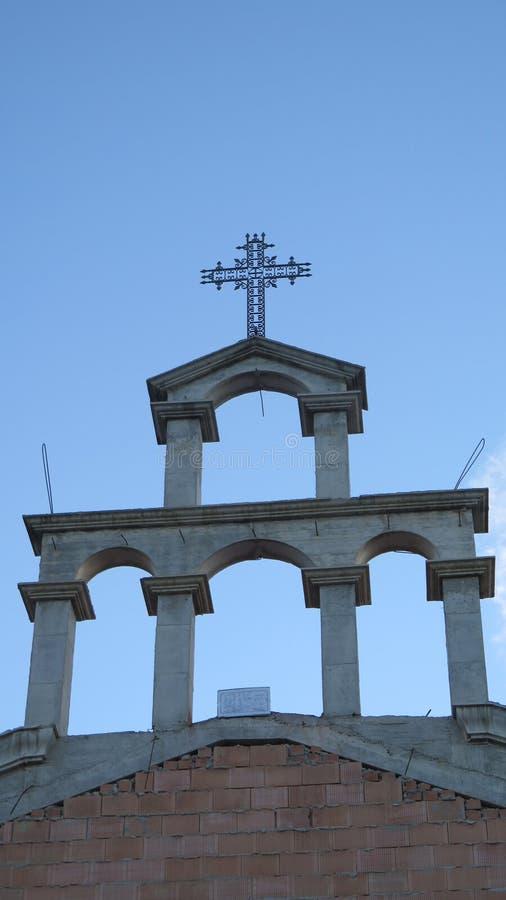 新的教堂 库存照片