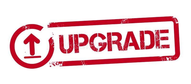 新的更新红色不加考虑表赞同的人 库存例证
