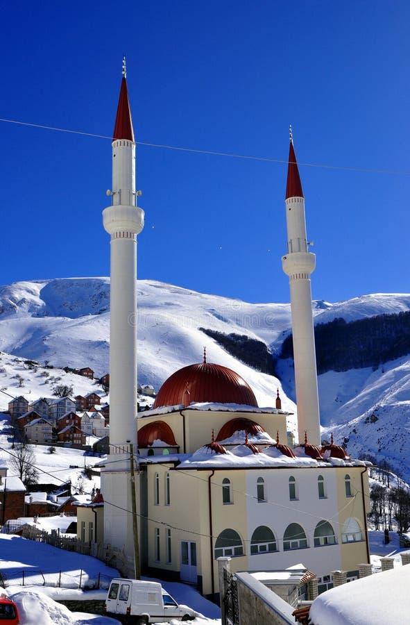 新的清真寺 库存照片