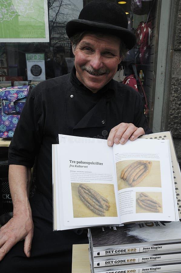 新的烹调书最佳的肉 库存照片