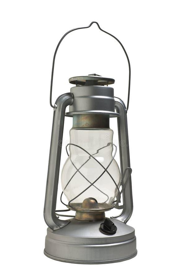 新的煤油灯 免版税库存照片