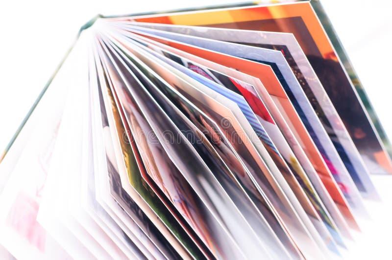 新的照片书架 免版税库存图片
