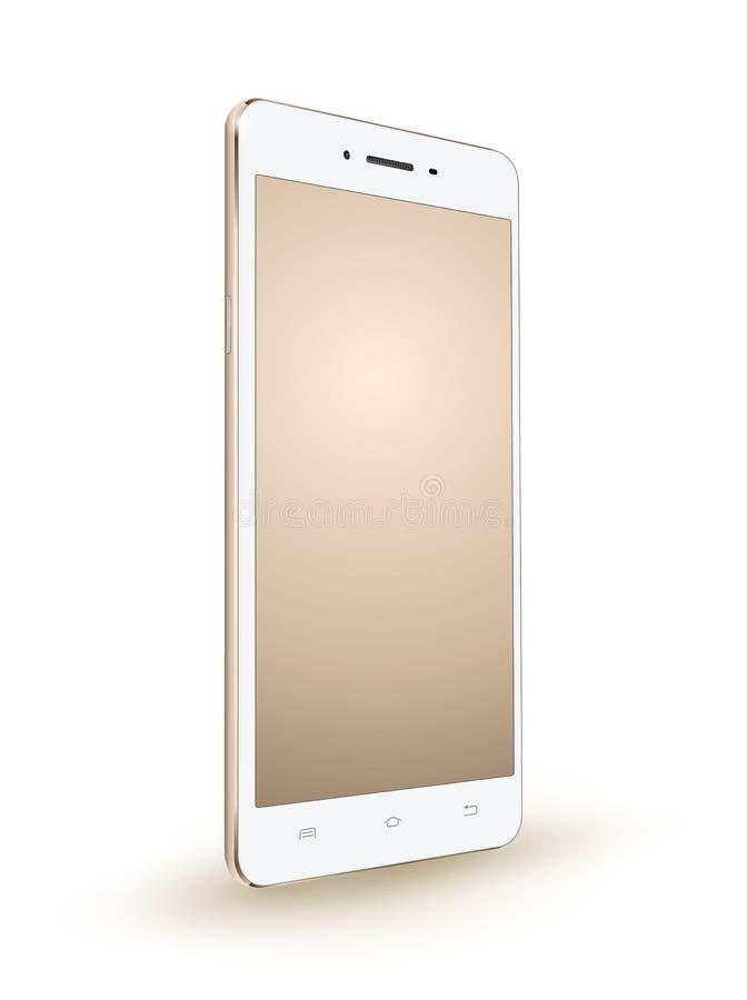 新的现实金智能手机大模型 皇族释放例证