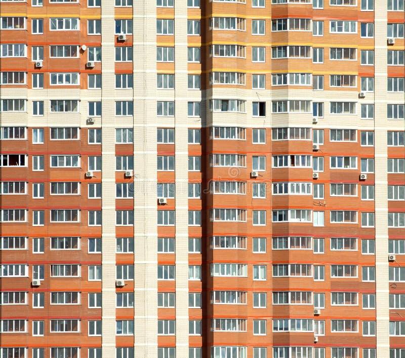新的现代居民住房准备好 免版税库存图片