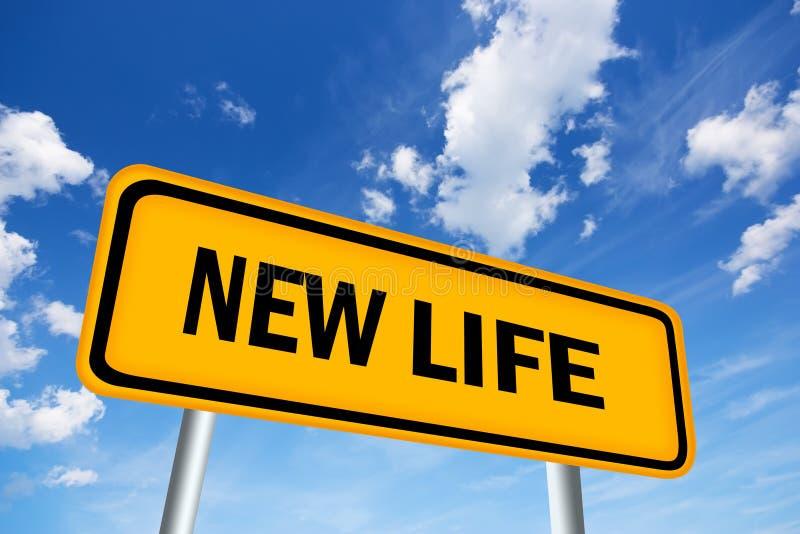 新的生活符号 向量例证