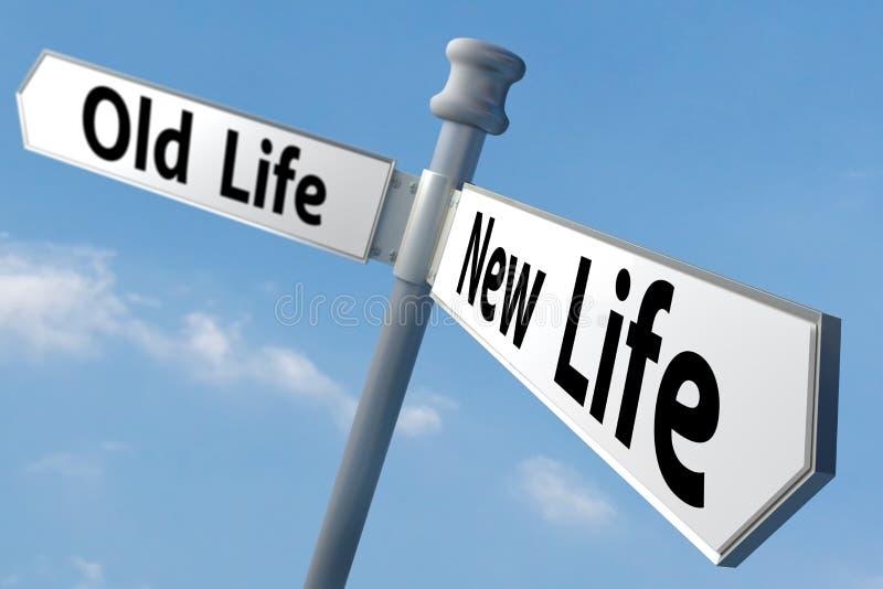 新的生活 免版税库存图片