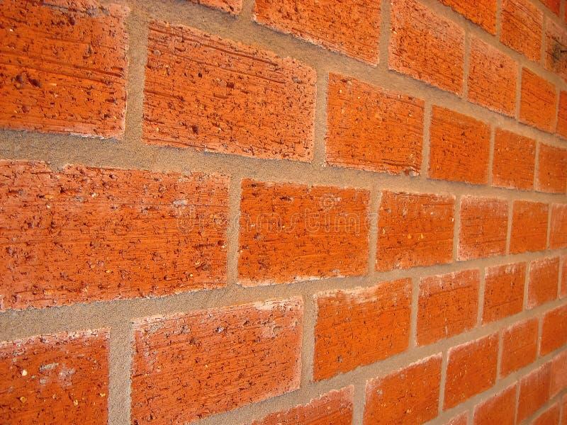 新的砖墙 免版税图库摄影