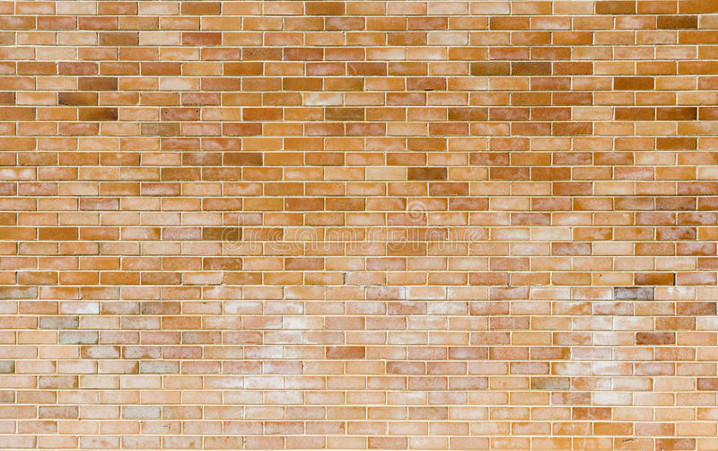 新的砖墙 库存照片