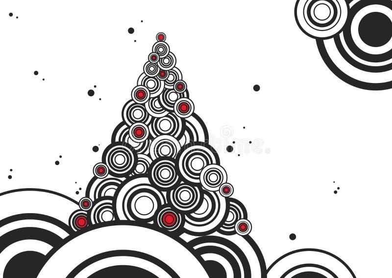 新的结构树年 皇族释放例证