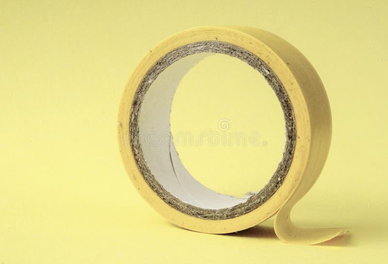 新的绝缘材料磁带卷 库存照片